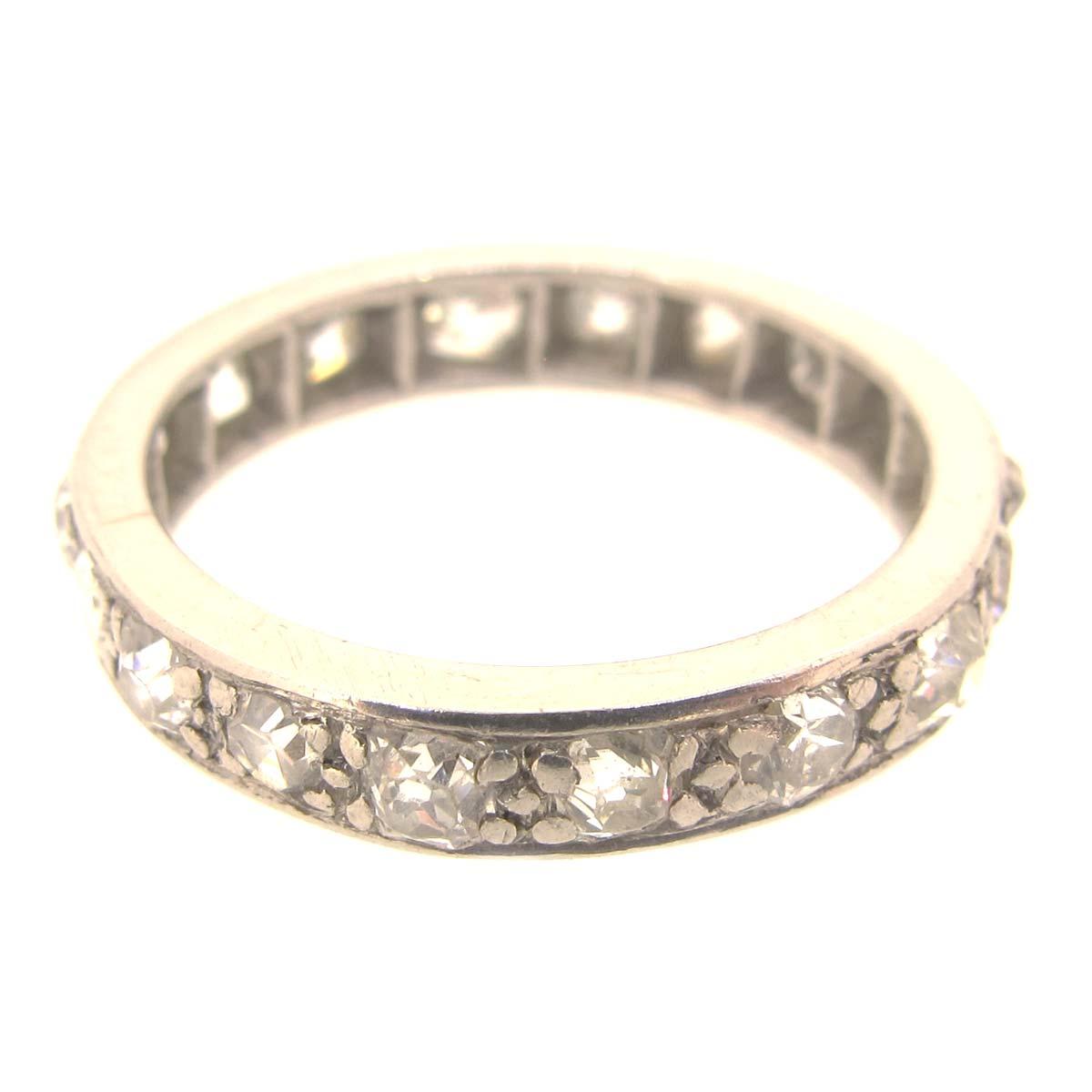 platinum eternity ring a r ullmann