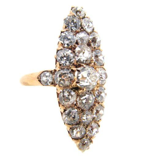 Antique Diamond Marquise Ring