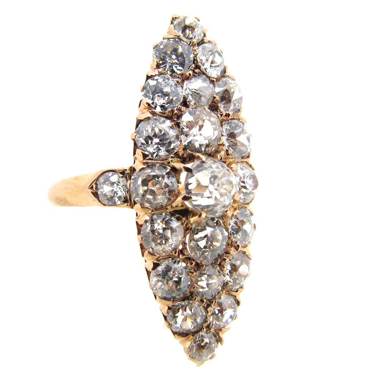 Antique Diamond Marquise Ring