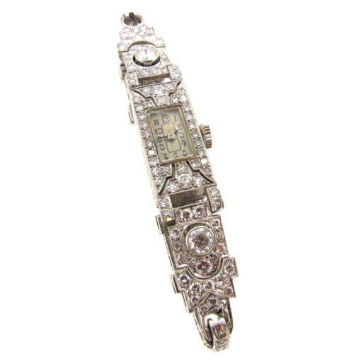 Art Deco Diamond Cocktail Watch