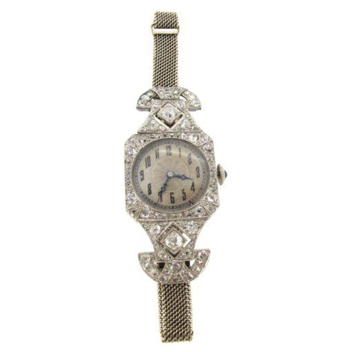 Art Deco Diamond Vacheron Constantin Watch