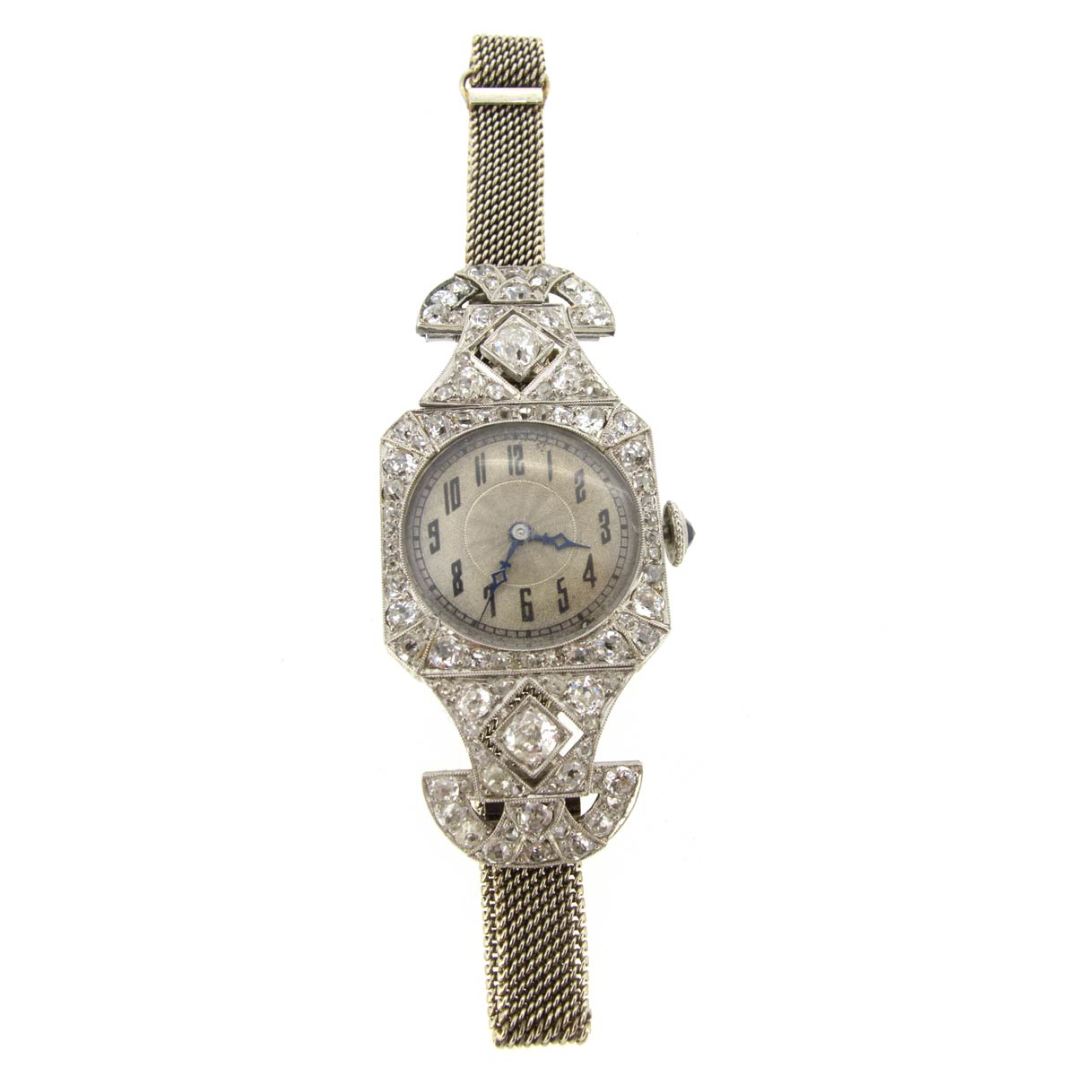 Art Deco Diamond Vacheron Constantin Watch