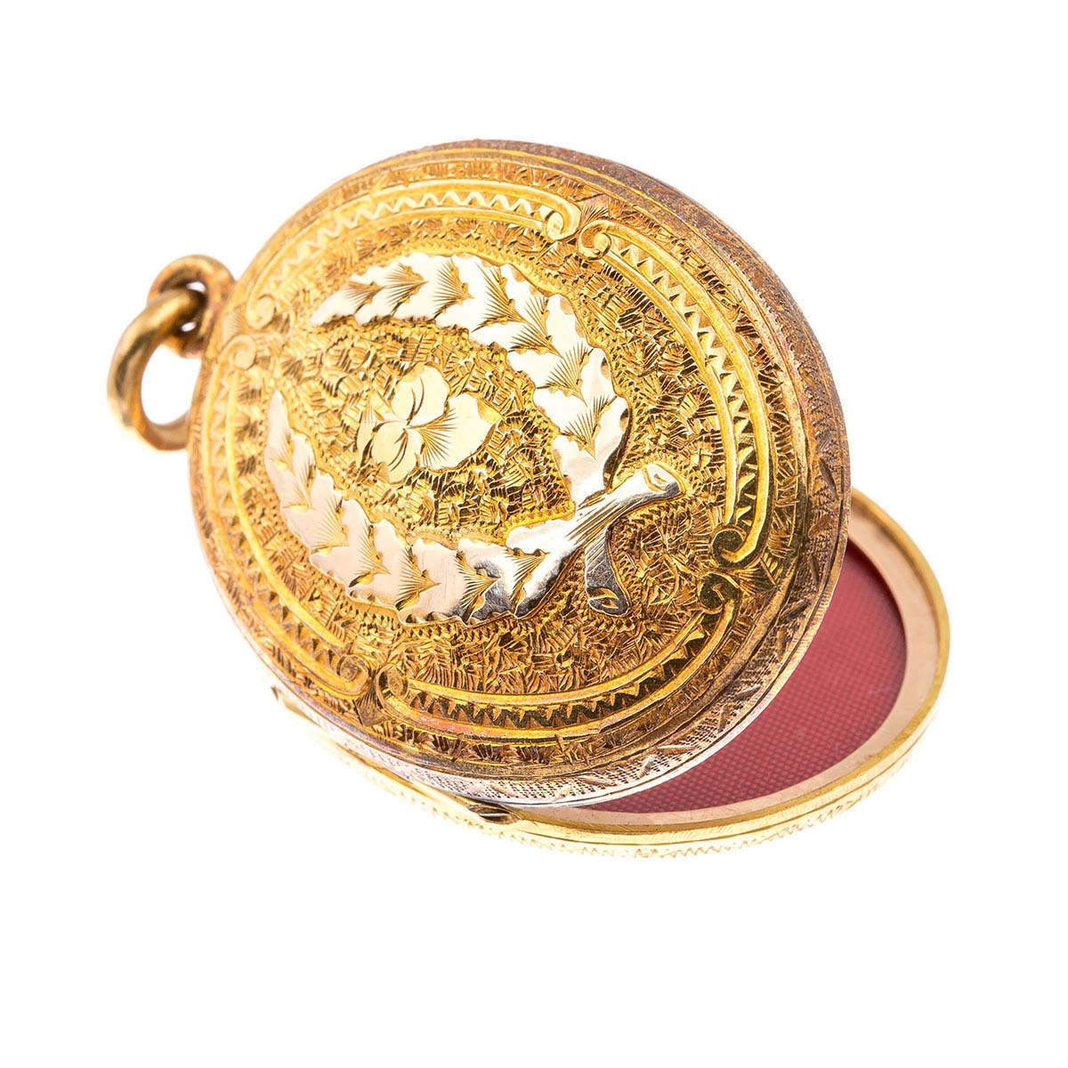 Antique Victorian 18ct gold locket