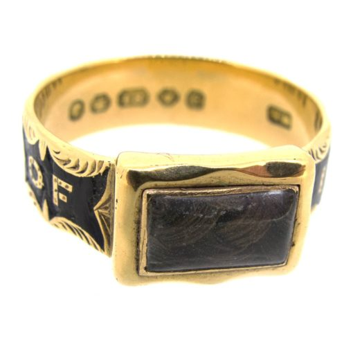 Antique Victorian Mourning Ring