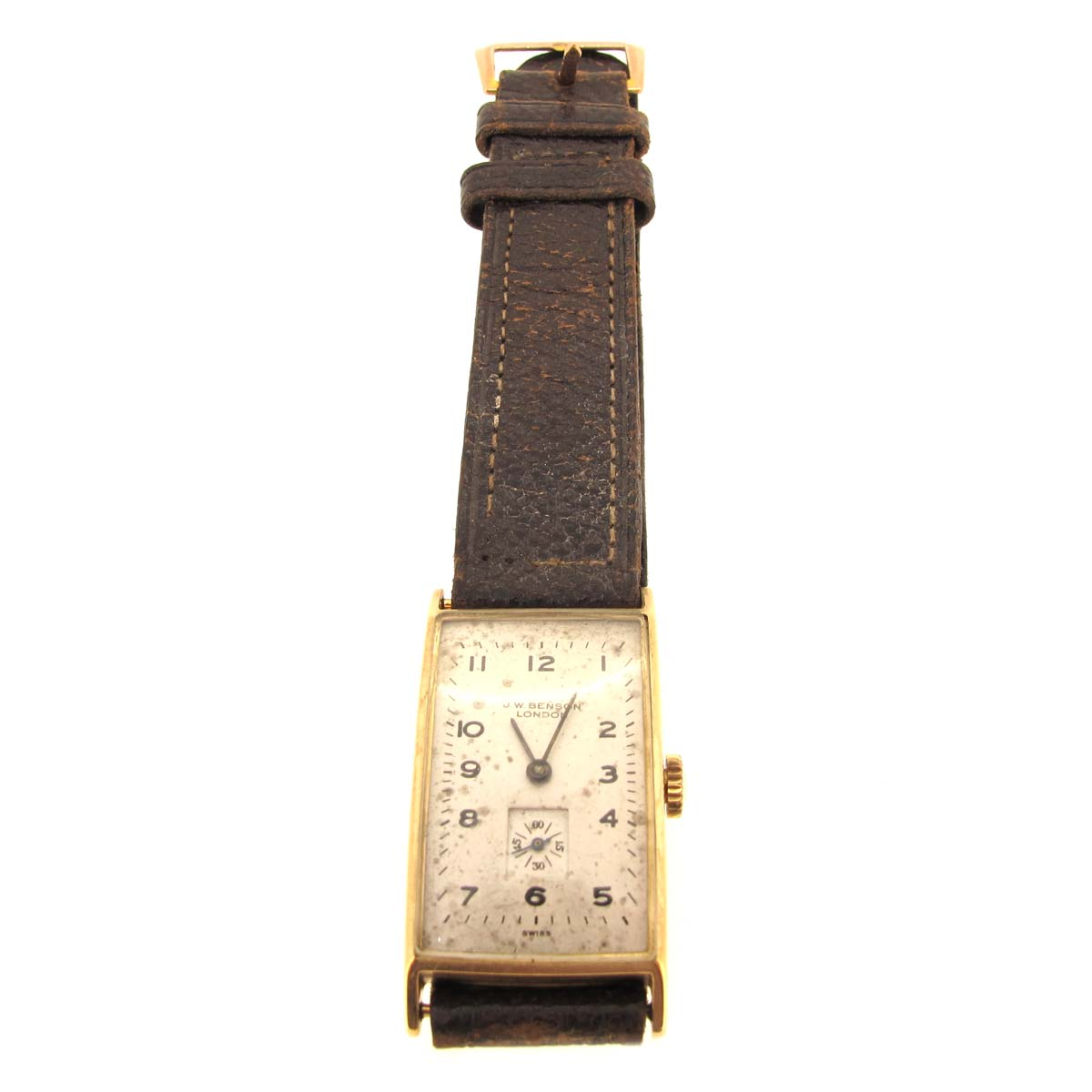 Benson Gold Gents Wristwatch