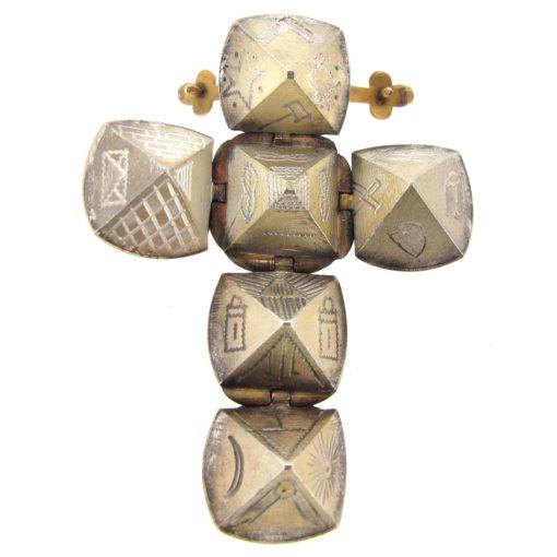 Masonic ball pendant/ charm