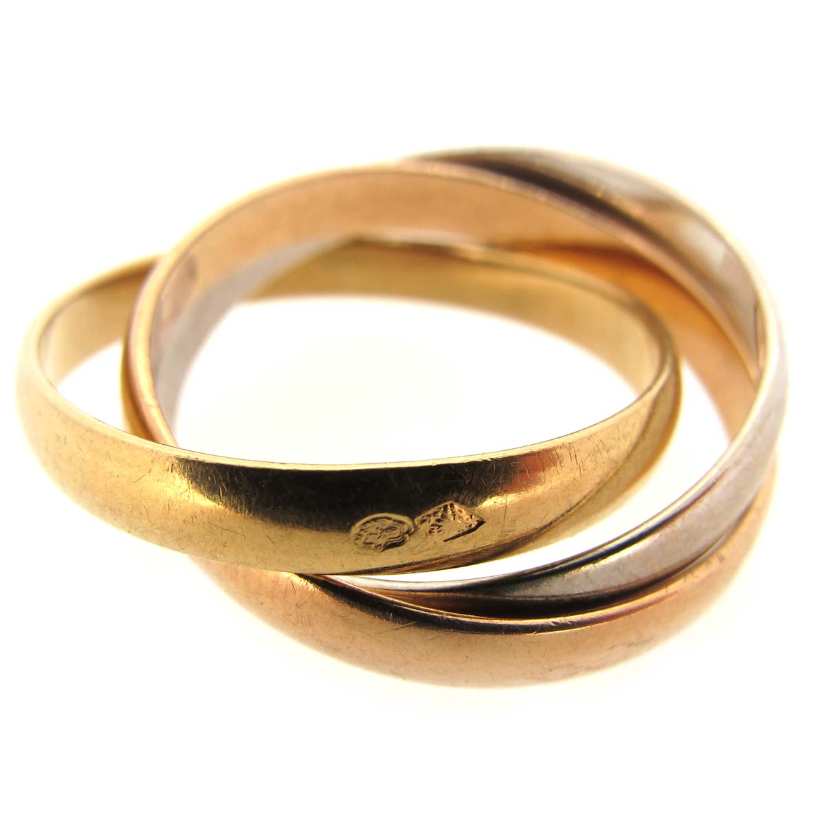 18ct gold Russian wedding ring