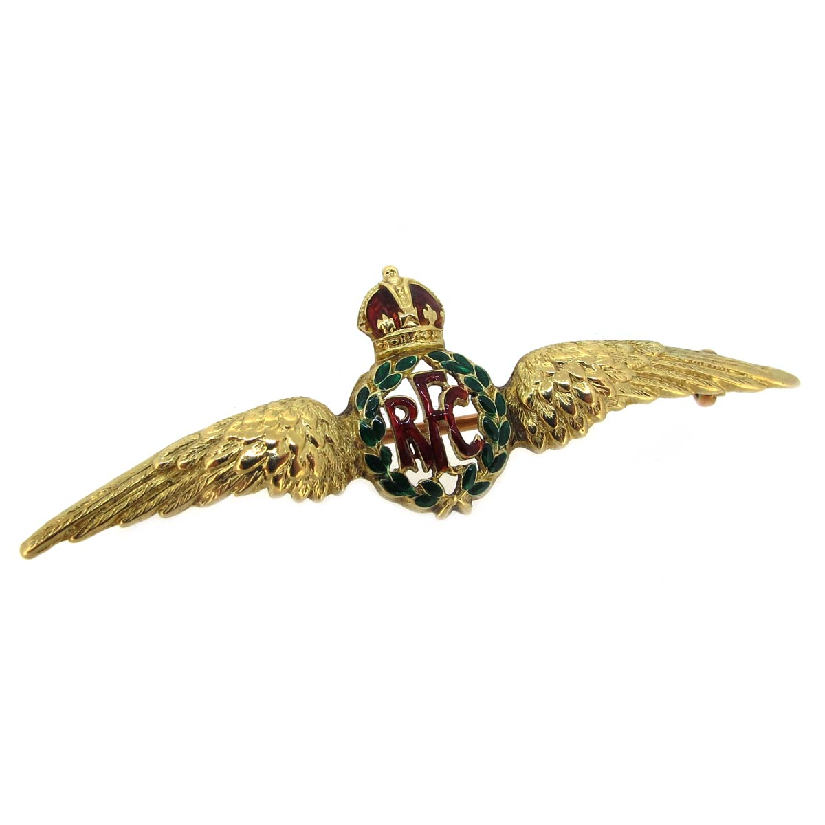 Antique Regimental Royal Flying Corps Brooch
