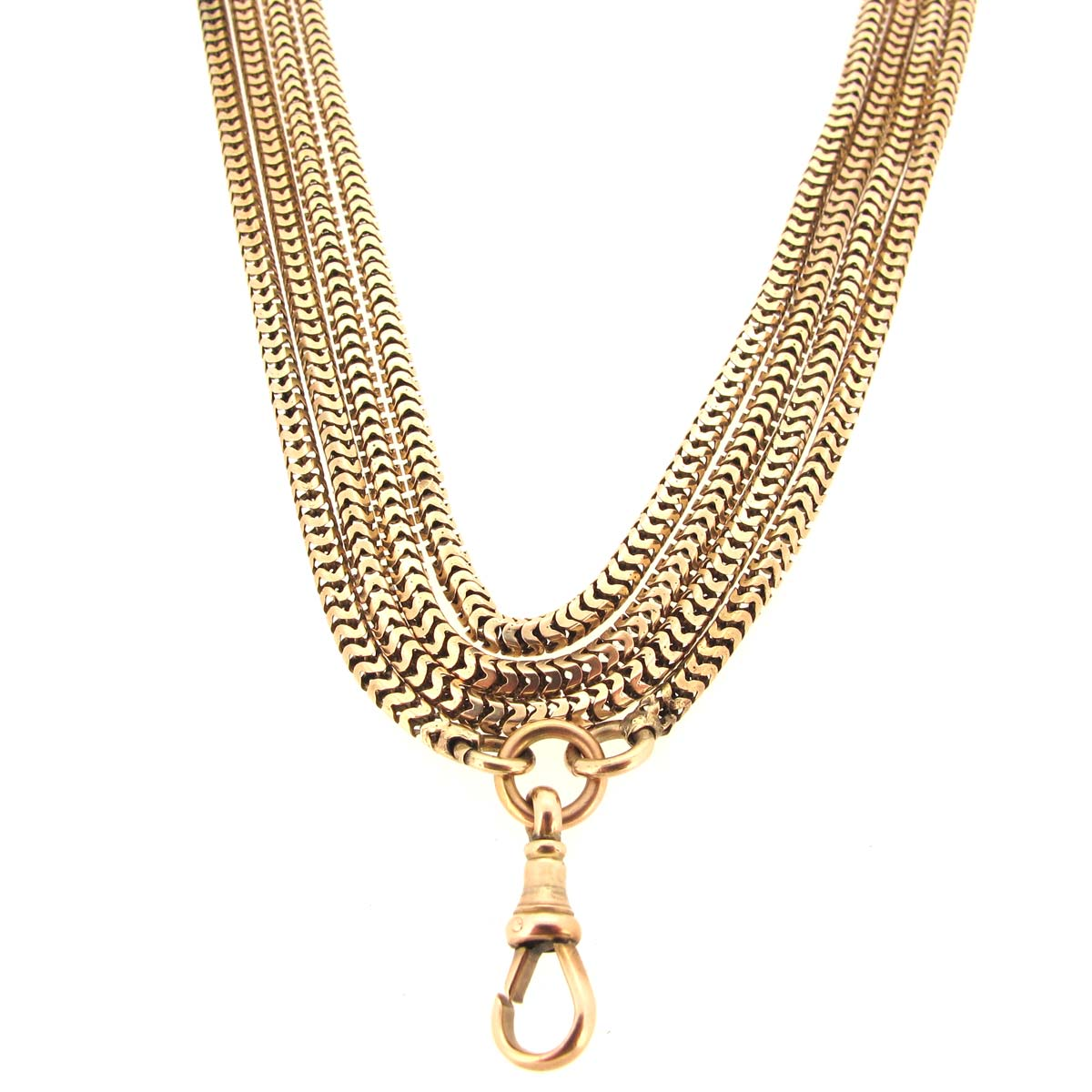 Antique Gold Guard Chain
