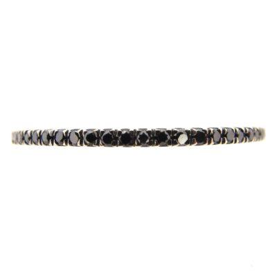 Black Diamond Full Eternity Ring