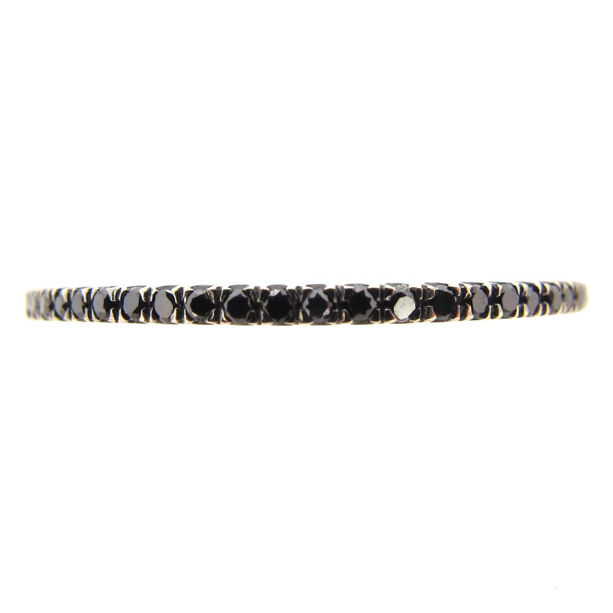 Black Diamond Full Eternity Ring