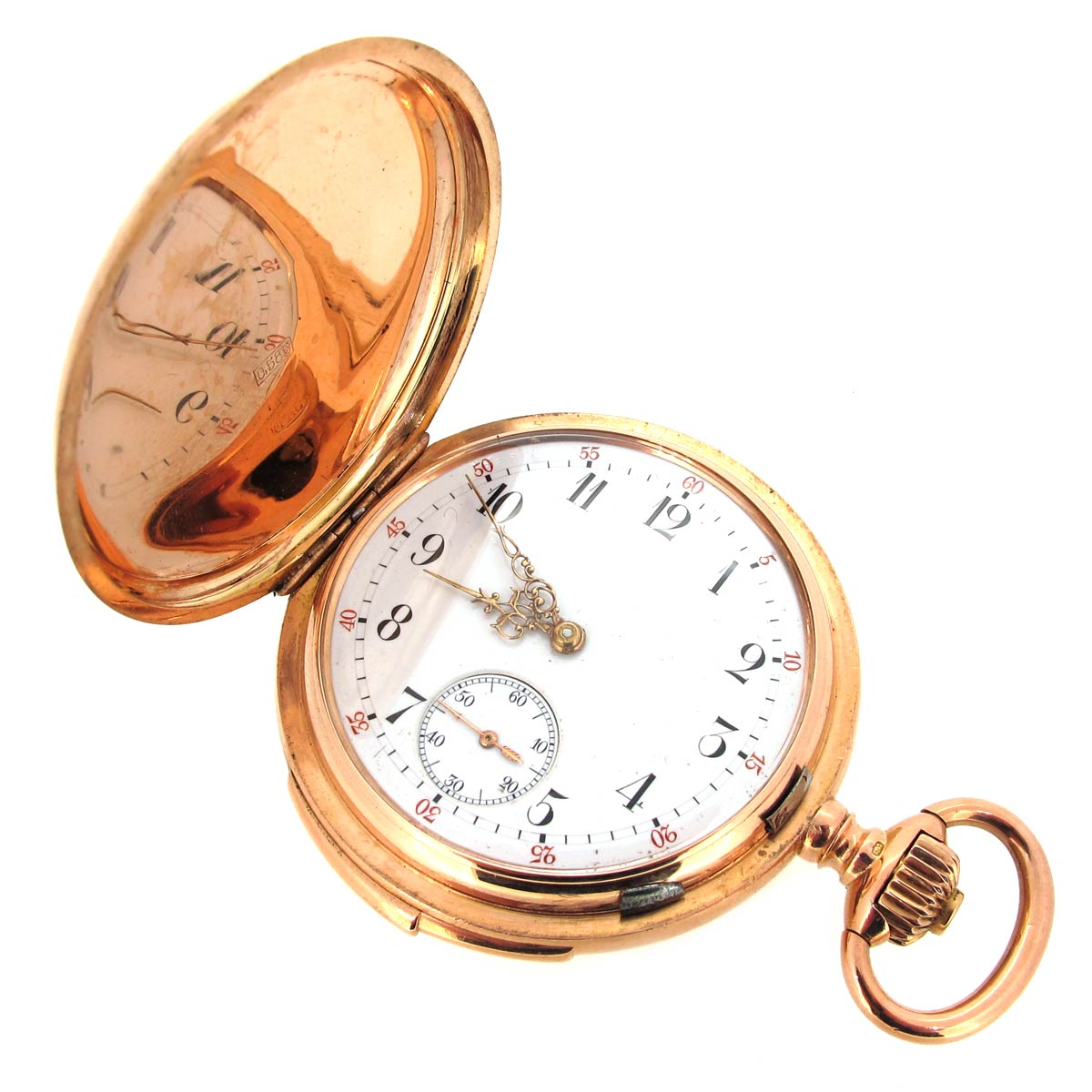 Antique Gold Minute Repeater Pocket Watch