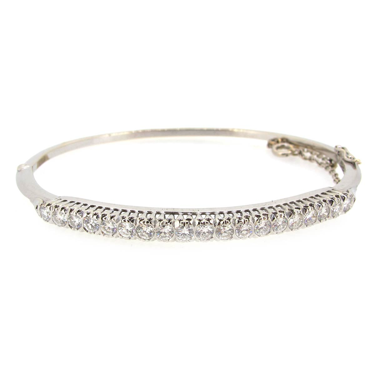 Diamond & Gold Bangle
