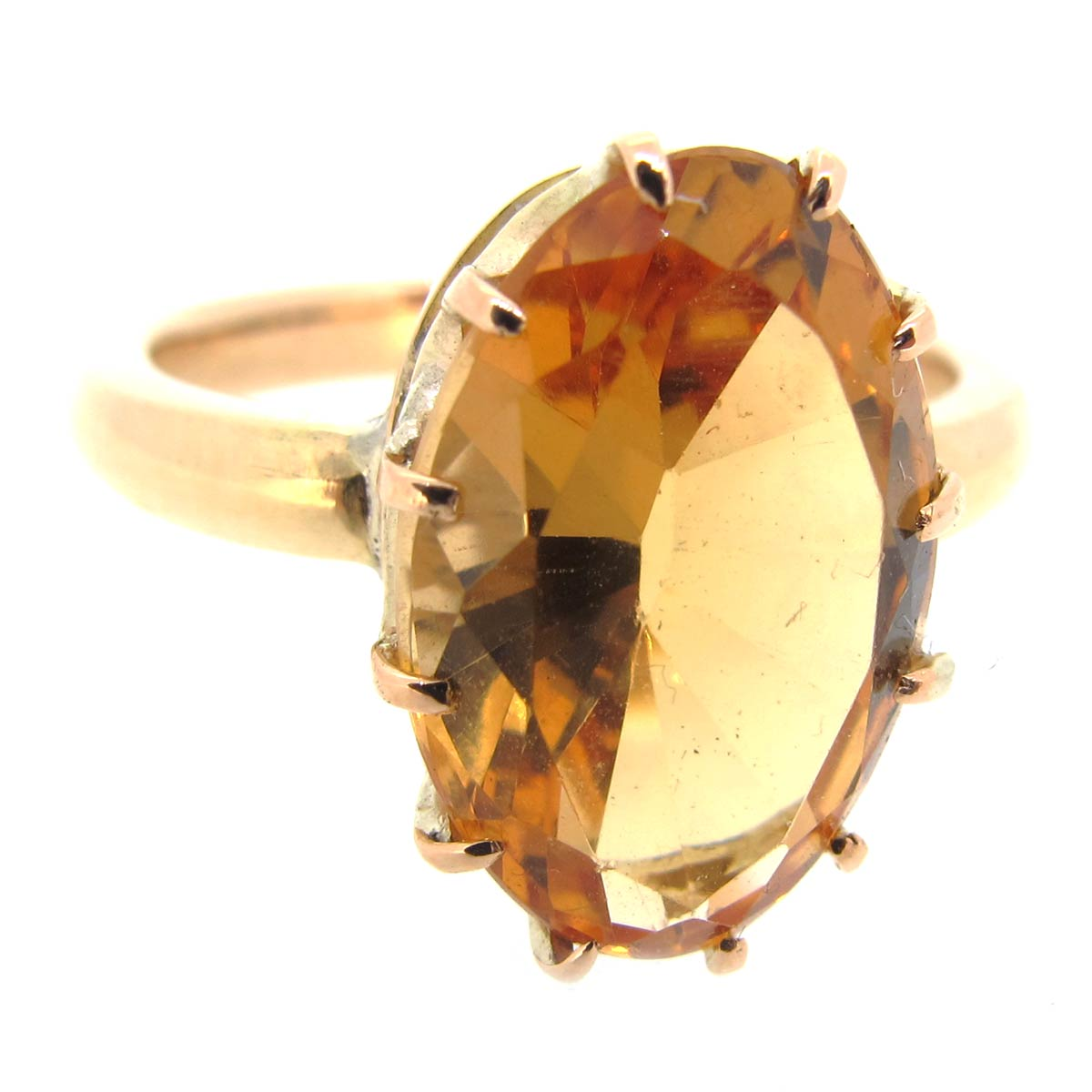 Brazilian Topaz Ring