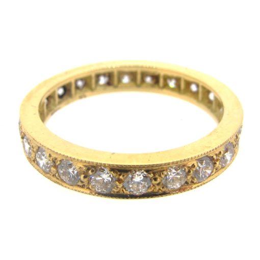 Gold & Diamond Eternity Ring