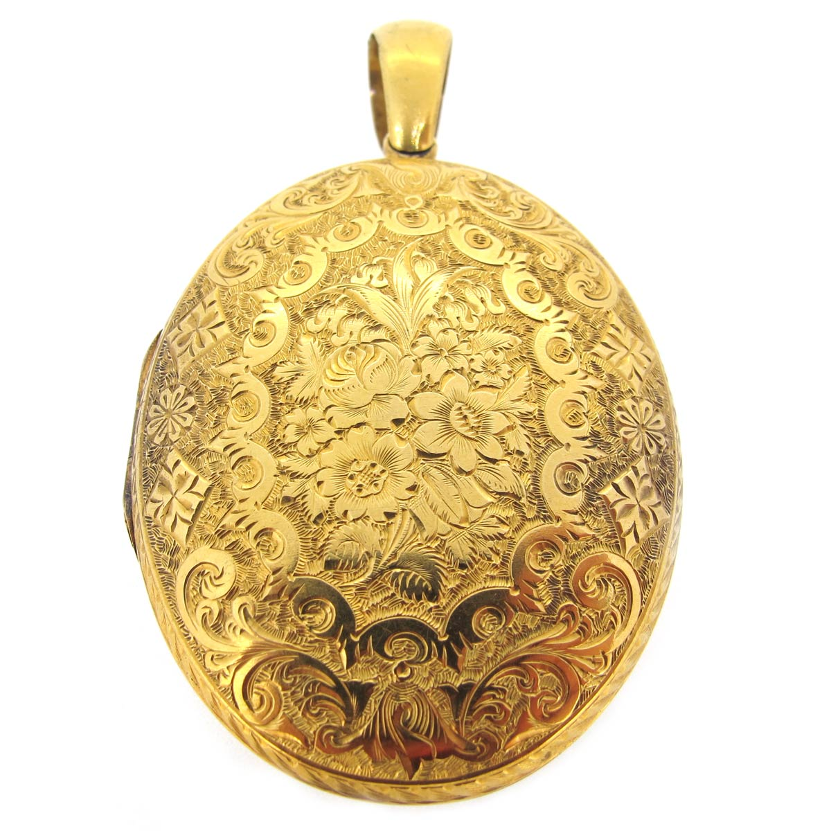 Victorian Gold Locket
