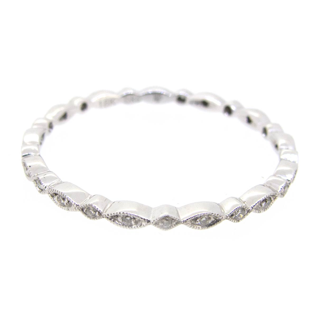 Narrow Diamond Eternity Ring