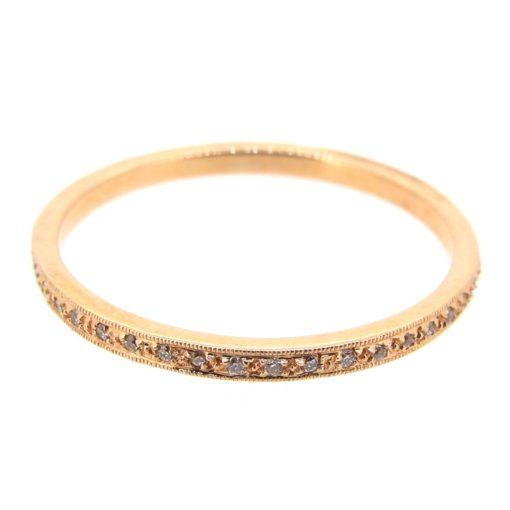 Rose Gold & Diamond Eternity Ring