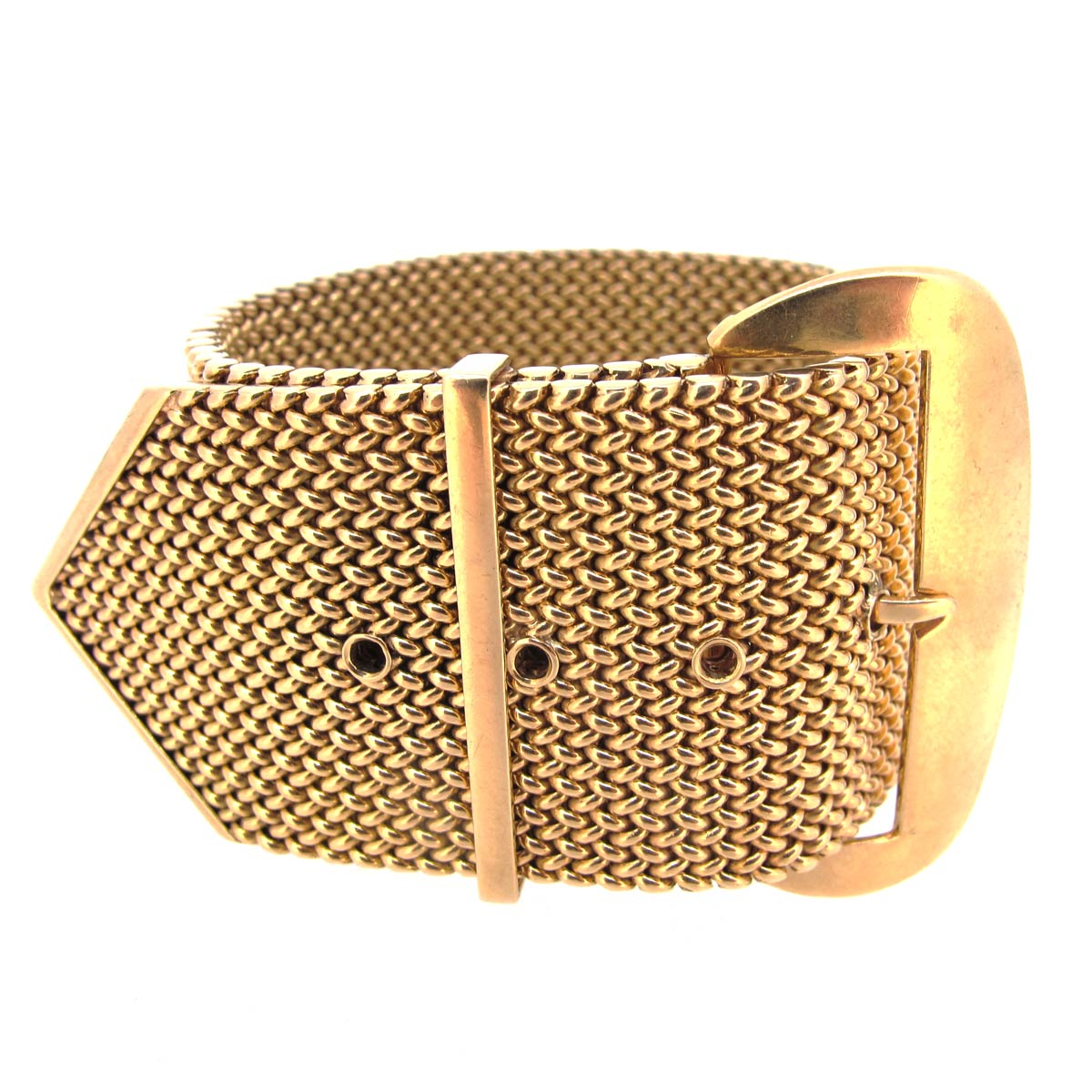 18ct Gold Buckle Bracelet
