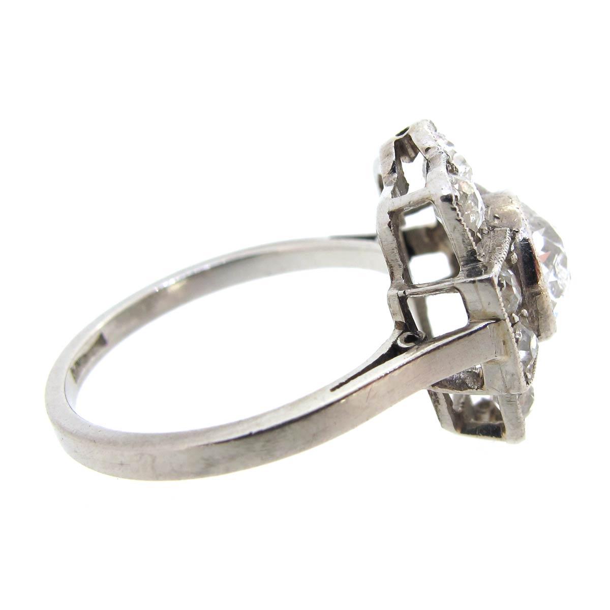 Diamond Tablet Ring