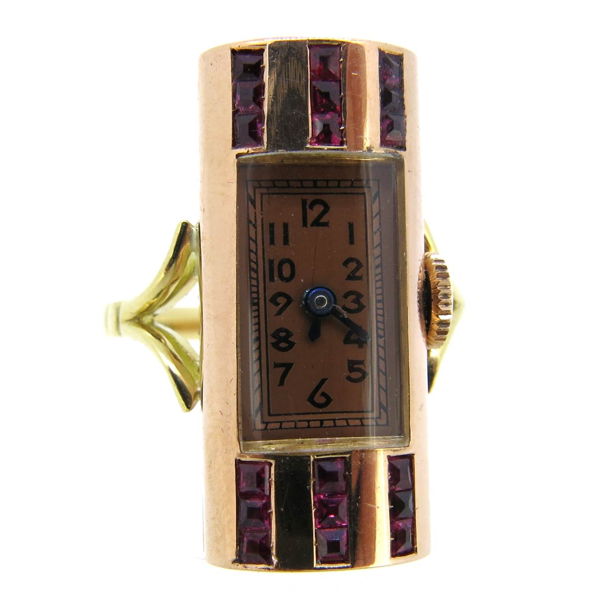 Art Deco Watch Ring